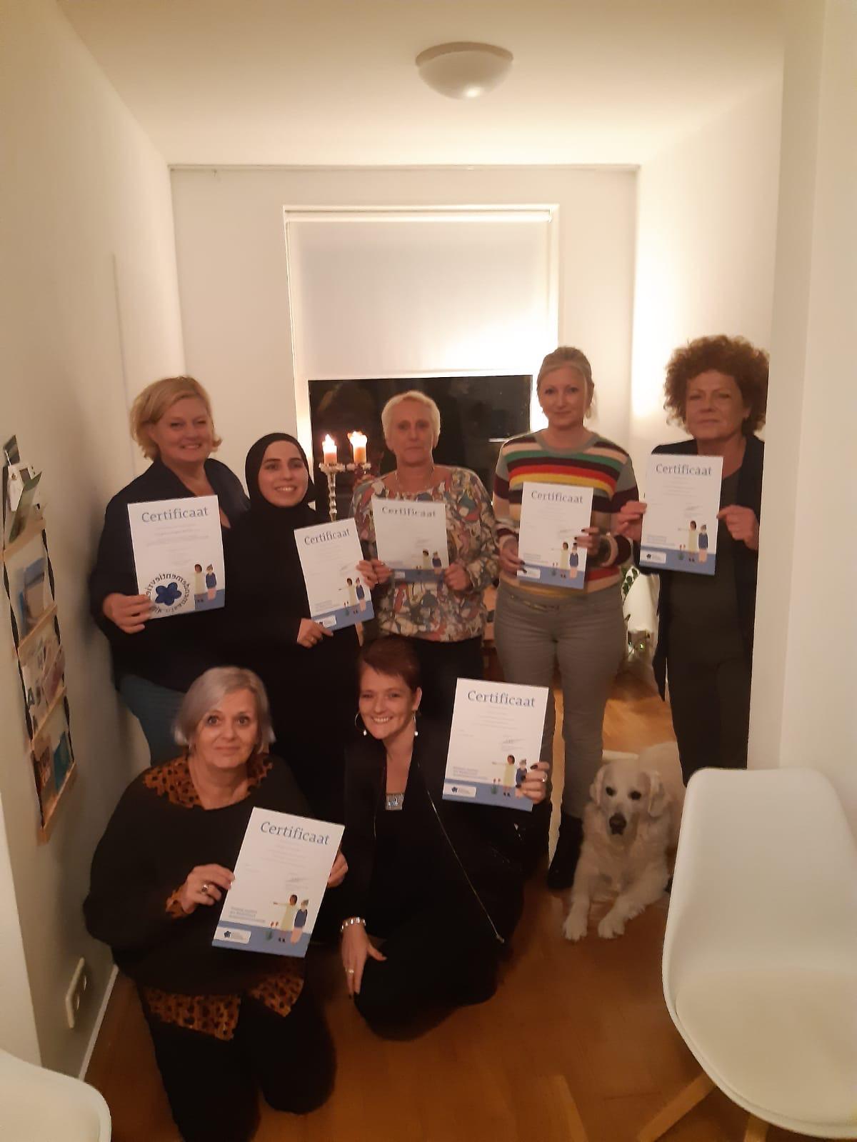 ZorgMies regio Breda e.o. ontvangt certificaat Samen Dementie Vriendelijk