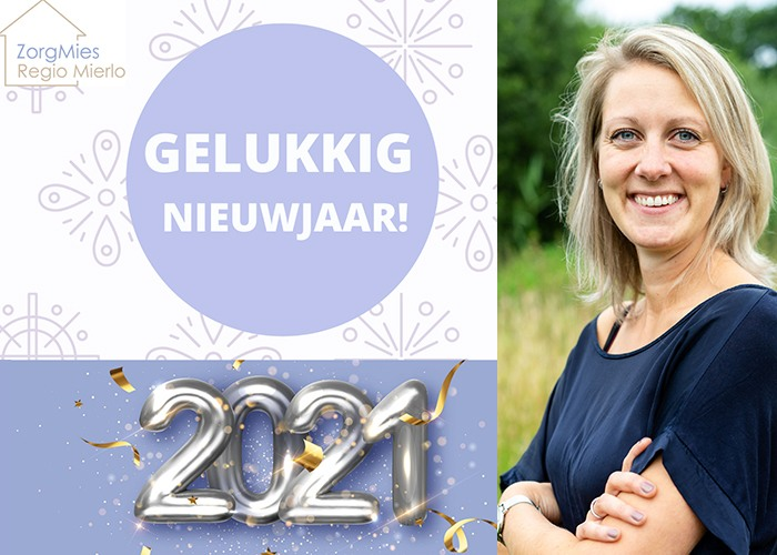 ZorgMies Mierlo Geldrop Nuenen wenst iedereen een gelukkig nieuwjaar