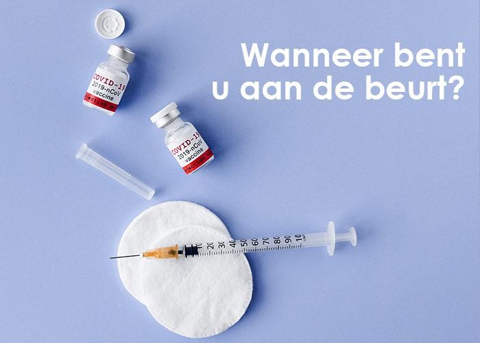Coronavaccin: wanneer bent u aan de beurt voor het vaccin?